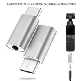 Конектор за микрофон на Osmo Pocket