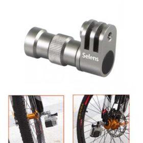 Приставка за монтаж на екшън камера на предна ос на велосипед