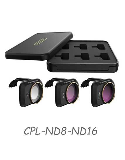 Филтри за Mavic Mini - CPL/ND8/ND16