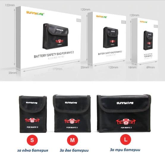 Три модела калъфи за батерии