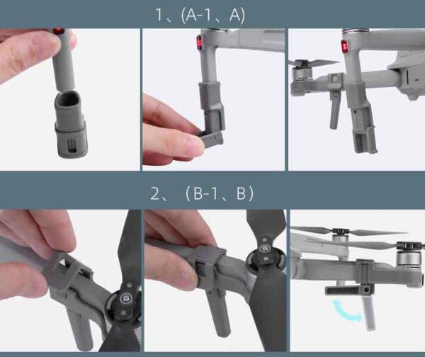 Удължители за краката на дрон Mavic Air 2