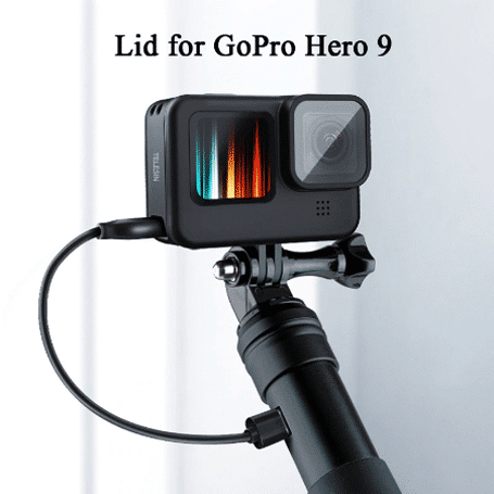 Странично капаче с отвор за зареждане за Gopro 9